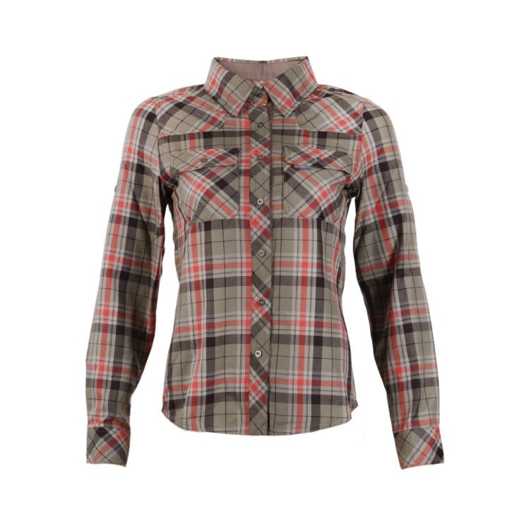 Camisa Mujer Mountain Towns Shirt L/S Laurel I18